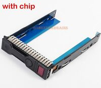 "New HP G9 Gen9 651314-001 REV 3.010 3.5"" LFF HDD Tray Caddy 651320-001 DL380p G9"
