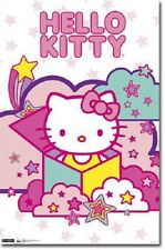 Yuko Shimizu Sanario Hello Kitty Stars Poster New 22x34 Fast Free Shipping