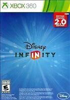 Disney Infinity 2.0 Xbox 360 Kids Marvel Super Heroes Replacement Game No Portal