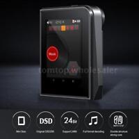 RUIZU A50 DSD256 Mini MP3 Player HiFi Lossless Music Audio USB OTG 64GB TF Card