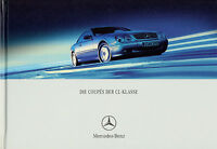 Mercedes CL Prospekt 2001 8/01 brochure prospectus catalogus CL 500 600 55 AMG