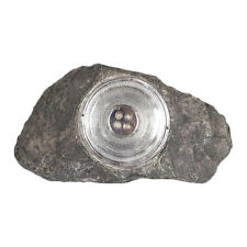 8 Large Outdoor Garden 4-LED Solar Decorative Rock Stone Spot Lights Lamp Yard
