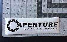 Aperture laboratories Portal Game Vinyl Decal Sticker