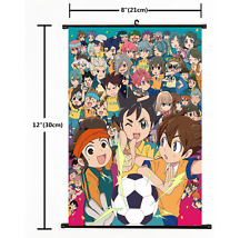 Anime Game 3DS Inazuma Eleven Go Wall Poster Scroll Home Decor Cosplay 2221