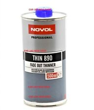 NOVOL 890 FADE OUT THINNER Lacquer Solvent Perfect Repair Paint Edges Blend in