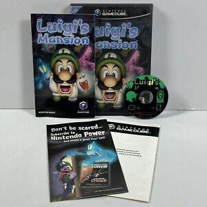 Luigi's Mansion (Nintendo GameCube, 2001) COMPLETE BLACK LABEL!