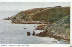 Channel Islands Postcard - Guernsey - Moulin Huet and Saints Bay - Ref TZ5948