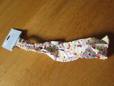 TU Multi Colour Floral Pattern Cotton Stretch Headband Hair Accessory (Gift)