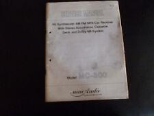 ORIGINALI service manual MAC AUDIO pii sintetizzatore AM/FM/MPX Car Receiver mc-300