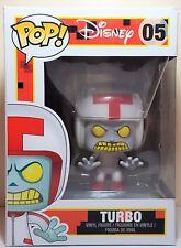 Funko Pop Turbo # 05 Wreck It Ralph Disney Vinyl Figure Slightly Damaged