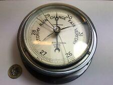 More details for negretti zambra ships bulkhead ,fisherman's aneroid barometer glass a/f