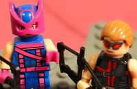 Marvel Super heroes Classic HAWKEYE & New Avenger Lot figure US Seller