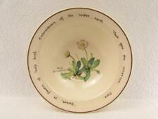 Country Diary Edwardian Lady by Noritake Rim Cereal Bowl  b65