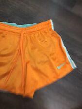 Nike Shorts Orange Teal Dri - Fit Xs Mesh With Bicycle Shirts Under Euc