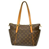 Louis Vuitton Totally PM M41016 Monogram Shoulder Tote Hand Bag Purse Brown LV