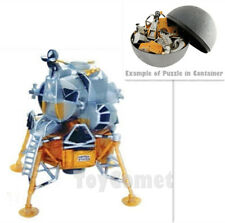 Lunar Lander Space Explorer 4D 3D Puzzle Realistic Model Kit Toy