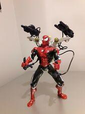 "Rare Water Web Blasters Aqua Cannon Spider-Man 10"" Figure 2000 Marvel"