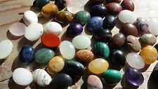Cabochon Gemstones ASSORTED 6x8mm (Pkg 50) Different Stones