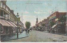 POSTCARD  CLACTON ON SEA  Station Road