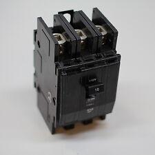SQD Square D Circuit Breaker 10 Amp 3 Phase Panel Mount BK 310P