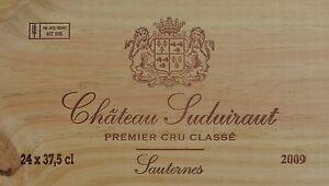 Château Suduiraut 2009, 1er Cru Classé Sauternes - 98 Punkte Parker