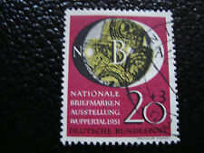 ALLEMAGNE RFA - timbre - Yvert et Tellier n° 28 obl (A1) stamp germany