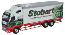 BNIB OO GAUGE OXFORD 1:76 76VOL01LED EDDIE STOBART LED TELETUBBY VOLVO FH LORRY