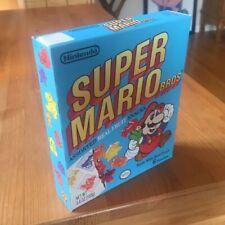Vtg 1989 Super Mario Bros. Fruit Snacks Original Display Box Nintendo RARE 80's!