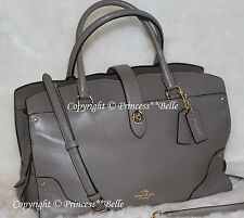 NWT COACH Mercer Satchel in Grain Leather Handbag Bag Purse Large FOG $450