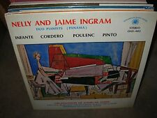 NELLY & JAIME INGRAM infante cordero poulenc pinto ( latin ) SEALED NEW