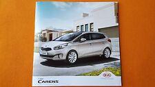 New listing Kia Carens Sr7 1 2 3 4 7 seat range car brochure sales catalogue 2016 Mint