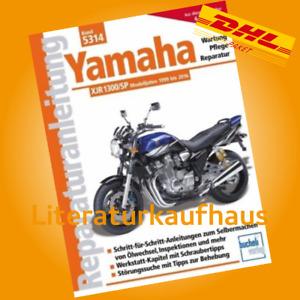 Yamaha XJR1300, SP, Racer Reparaturanleitung Reparatur-Buch/Handbuch (XJR 1300)