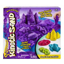 Kinetic Sand - Sandbox & Molds
