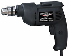 "Speedway 3/8"" Variable Speed Corded Electric Drill Driver Power Tool 45137"