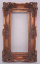 Dorati cornice in legno massello-apertura 30cm x 13cm-Dimensioni complessive 40cm x 23cm