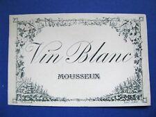 CREMANT DE DIE MOUSSEUX Fond noir F02