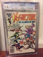 X-FACTOR #5 Comic CGC Graded X-MEN - WHITE Pages 9.4 1st APOCALYPSE