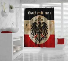 WWI German Patriotic Shower Curtain 1914/18 World War 1 God with Us German Eagle