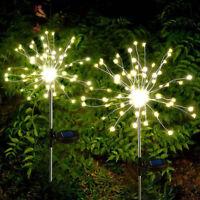 150 LED Feuerwerk Lichterkette Weihnachts Beleuchtung Außen Garten Hängend Licht