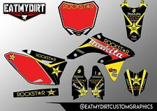 SUZUKI RMZ 250 2010-2017 FULL CUSTOM GRAPHICS KIT STICKERS MOTOCROSS DECALS MX