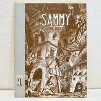 SAMMY THE MOUSE Volume 1 by Zak Sally - Graphic Novel Comic RARE