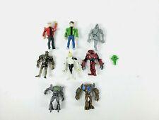 Ben 10 Ten Alien Force Creation Chamber Action Figure Lot (Read Description)