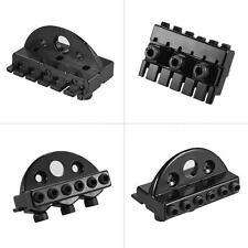 6-string Headless Electric Guitar String Locking Nut 2 Wrench 2 Screw Black R4U7