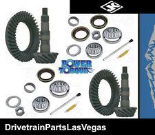 Power Torque Dana 30 + 44 Wrangler JK Ring & Pinion Install Package 4.56 Ratio