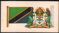 Flag And Standard - Banner For Tanzania c50 Y/O Trade Ad  Card