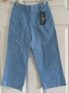 Vineyard Vines Boy's Classic Fit Club Pants Size 5 Blue Color New With Tags