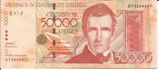 VENEZUELA 50000 BOLIVARES 2006. UNC CONDITION. 4RW 22JUN