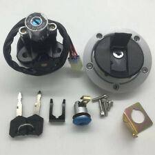For Suzuki Bandit GSF650/1200/1250 Ignition Switch Fuel Gas Cap Seat Lock Key