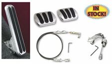 58-65 Chevy Car Pedal Kit for Manual with Gas Brake Clutch Pedals - FMG-6098