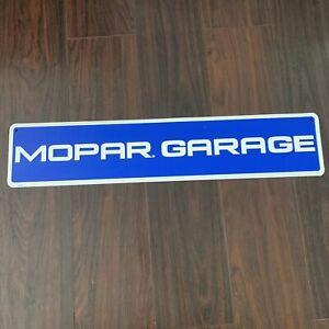 Mopar Garage Street Tin Sign Man Cave Wall Art